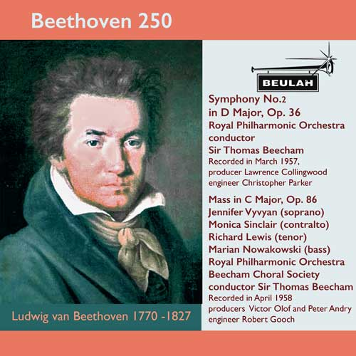 8PS57 beethoven 250 symphony number 2 mass in c