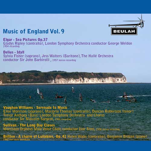 music of england vol 9